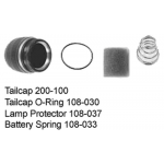 Maglite C Cell Tailcap Assembly (w/ C in Serial Number) - Bi-Pin