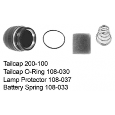 Maglite C Cell Tailcap Assembly (w/ C in Serial Number)