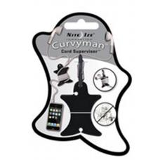 Nite Ize Curvyman Headphones Organizer CVM-03-01, Black