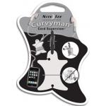 Nite Ize Curvyman Headphones Organizer CVM-03-02, White
