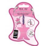 Nite Ize Curvyman Headphones Organizer CVM-03-12, Pink