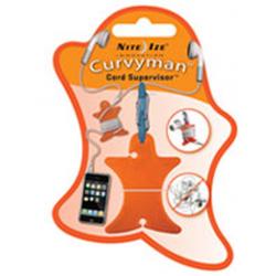 Nite Ize Curvyman Headphones Organizer CVM-03-19, Orange