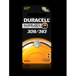 Duracell 309/393 Watch Battery (SR48, G5), D309-393PK