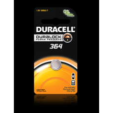 Duracell 364B Watch Battery (SR60, SG1, SR/TR621SW), D364BPK