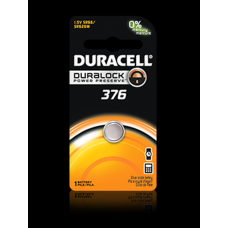 Duracell 376B Watch Battery (SR66, SR626W), D376BPK