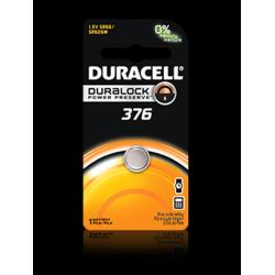 Duracell 376B Watch Battery (SR66, SR626W), D376BPK