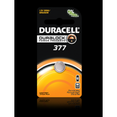 Duracell 377B Watch Battery (SR66, SR626SW), D377BPK
