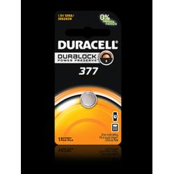 Duracell 377/376 Watch Battery (SR66, SR626SW), D377BPK