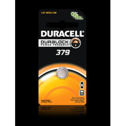 Duracell 379B Watch Battery (SR521 Replacement), D379BPK