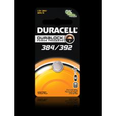 Duracell 384/392B Watch Battery (SR41, GS3, G3, LR41 Replacement)