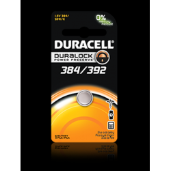 Duracell 384/392B Watch Battery (SR41, GS3, G3, LR41 Replacement), D384-392PK