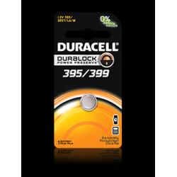 Duracell 395/399B Watch Battery (SR57, SR/TR927SW Replacement), D395-399PK