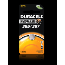 Duracell 396/397B Watch Battery (SR59, SR/TR726 Replacement), D396-397PK