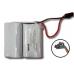 DL-19 SafLok 4 Cell 6 volt Alkaline Door Lock Battery Pack