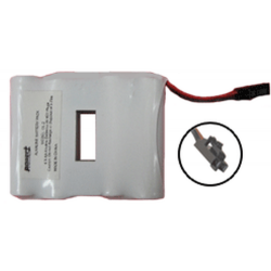 DL-2 SafLok 4 Cell 6 volt Alkaline Door Lock Battery Pack