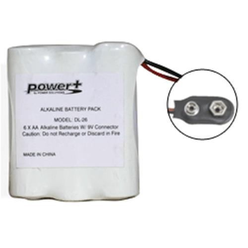 zBattery com   DL-26-vingcard-6-Cell-9-volt-Alkaline-Door-Lock-Battery