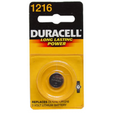 Duracell DL1216BPK 3V Lithium Coin Cell Battery