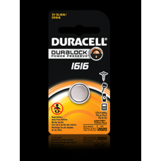 Duracell DL1616BPK 3V Lithium Coin Cell Battery CR1616
