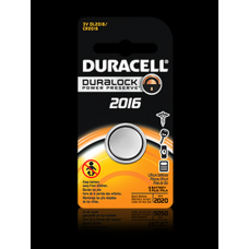 Duracell DL2016BPK 3V Lithium Coin Cell Battery