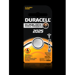 Duracell DL2025BPK 3V Lithium Coin Cell Battery