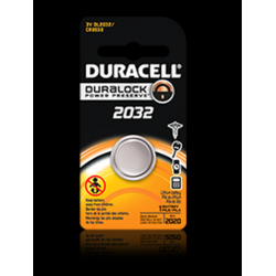 Duracell DL2032BPK 3V Lithium Coin Cell Battery