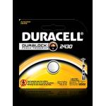 Duracell DL2430BPK 3V Lithium Coin Cell Battery