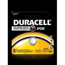 Duracell DL2430BPK 3V Lithium Coin Cell Battery