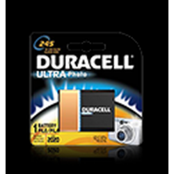 Duracell 245 Lithium Photo Battery 2CR5, DL245BPK