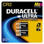 Duracell Coppertop Ultra CR2 3V Lithium Photo Battery 2/pk DLCR2B2PK