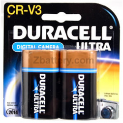 Duracell Coppertop CR-V3 (lb-01) 3V Lithium Battery 2/card, DLCRV3B2PK