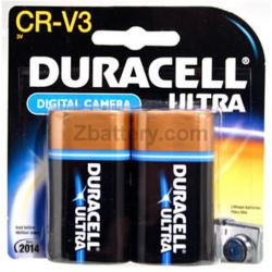 Duracell Coppertop CR-V3 (lb-01) 3V Lithium Battery 2/card, DLCRV3B2PK