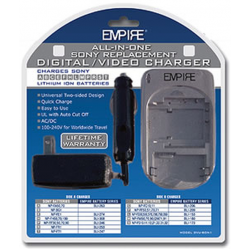 All-in-One Compact Charger for Sony Batteries, DVU-SON1