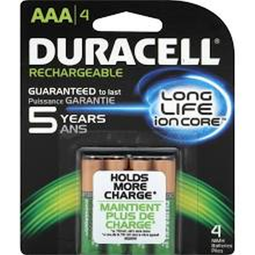 Zbatterycom Duracell Precharged Rechargeable 800mah Aaa Nimh