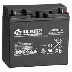 BB Battery, EB20-12B1, 12v 20Ah Sealed Lead Acid Battery