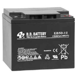BB Battery, EB50-12I2, 12V 50Ah Sealed Lead Acid Battery