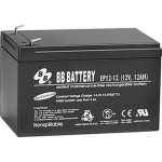 BB Battery, EP12-12T2, 12V 12Ah Sealed Lead Acid Battery