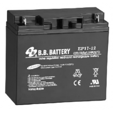BB Battery, EP17-12B1, 12V 17Ah Sealed Lead Acid Battery