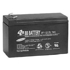 BB Battery, EP7-12T1, 12V 7Ah Sealed Lead Acid Battery