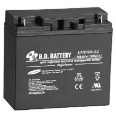 BB Battery, EVP20-12B1, 12V 20Ah Sealed Lead Acid Battery