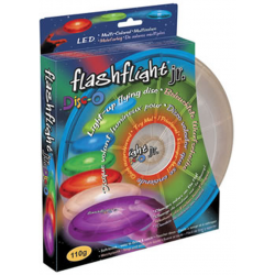 Nite Ize FlashFlight-JR DISC-O Led Illuminated Flying Disc FFJ-08-07