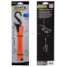 Nite Ize 24 Clippable Gear Tie Reusable Twist Tie, Bright Orange