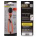 Nite Ize 12 inch Dockable Gear Tie Reusable Twist Tie, Bright Orange