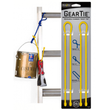Nite Ize Gear Ties, 24 inch Yellow Rubber Twist Tie, GT24-2PK-16