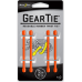 Nite Ize Small Gear Ties, 3 inch Bright Orange Rubber Tie, GT3-4PK-31
