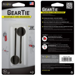 Nite Ize Gear Tie Mountables Cord Organizer 3