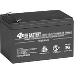 BB Battery, HR15-12T2, 12V 13Ah Sealed Lead Acid Battery