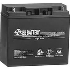BB Battery, HR22-12B1, 12V 20Ah Sealed Lead Acid Battery