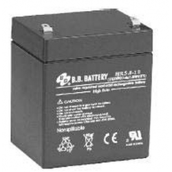 BB Battery, HR5.8-12T1, 12V 5.8Ah High Rate Sealed Lead Acid Battery