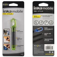 Nite Ize Inka Mobile Pen and Stylus Combo, Green Transluscent