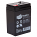 Interstate Battery, SLA0905, 6v 4.5Ah Sealed Lead Acid Battery, T1